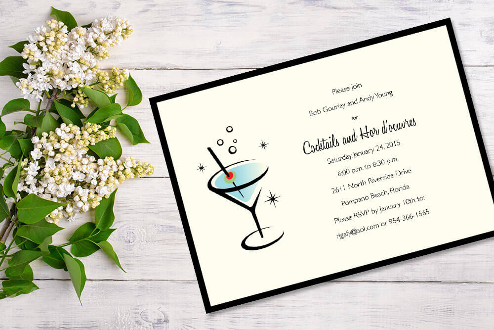 Patti and Hank Speciality Invitations