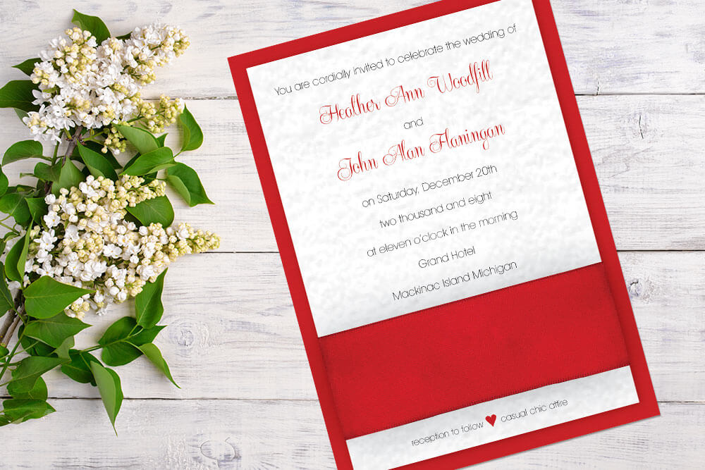 Elegant Wedding Invitations | Custom Designs