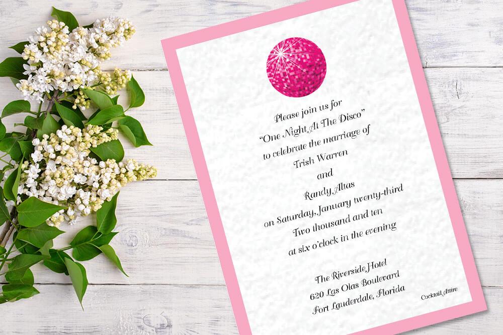 wedding invitations custom designs patti and hank